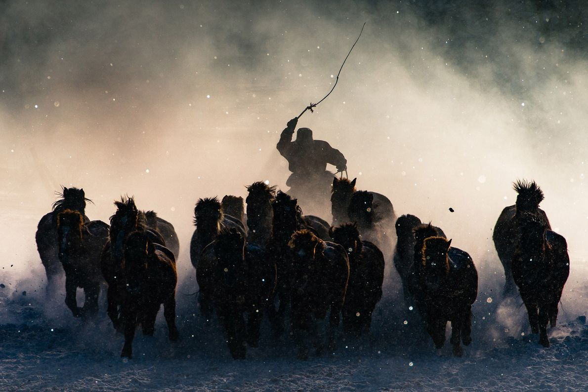 The winter in Inner Mongolia is very unforgiving. At a freezing temperature of minus 20 and ...