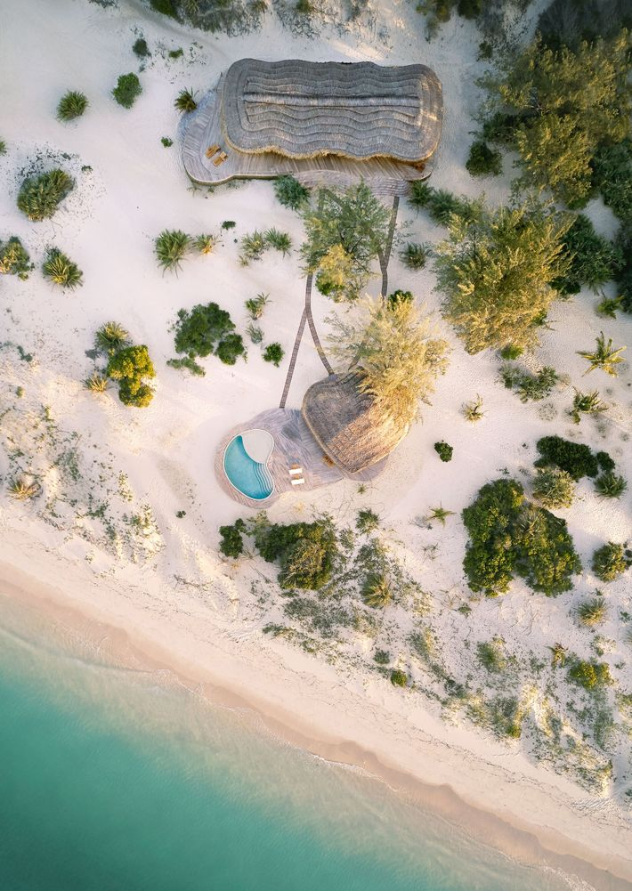 At the southern tip of Mozambique's Benguerra Island, guests can enjoy unrivalled privacy at Kisawa Sanctuary.