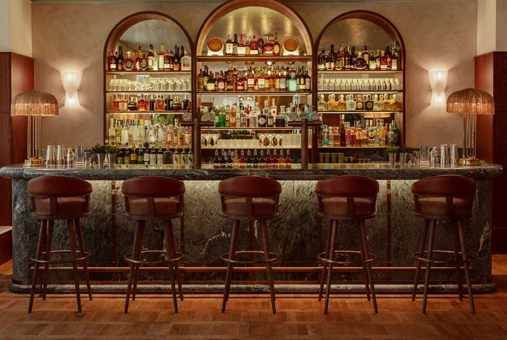 The Lobby Bar at The Hoxton, Rome, the 10th property from the London-based group.