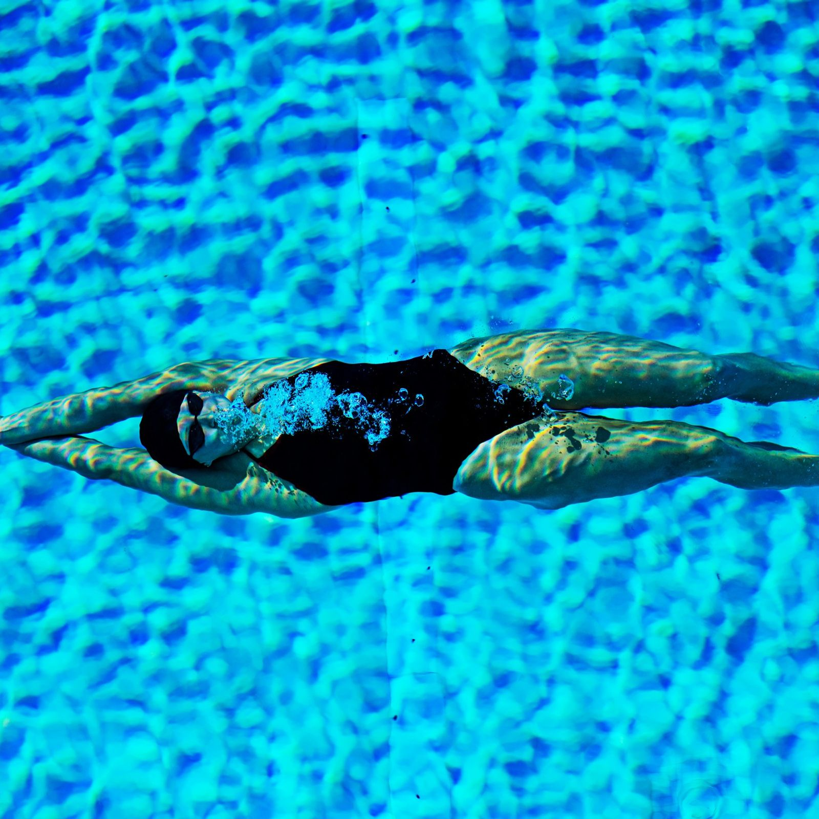 Swimmer Katie Ledecky shattered her own record in the 1,500-metre freestyle swimming event by five seconds ...