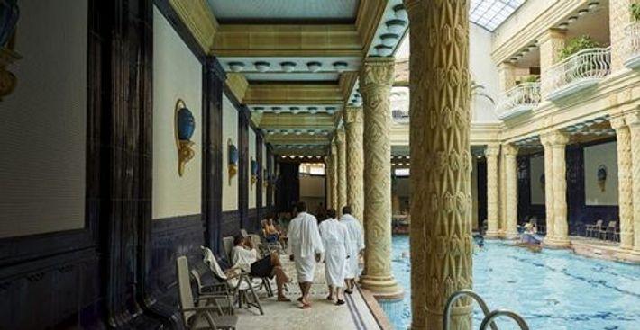 The Gellért Thermal baths