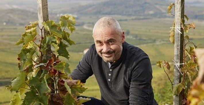 Endre Demeter, the owner of Demetervin Vineyard