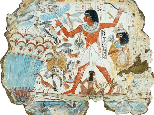 Anonymous artists invented ancient Egypt's iconic style