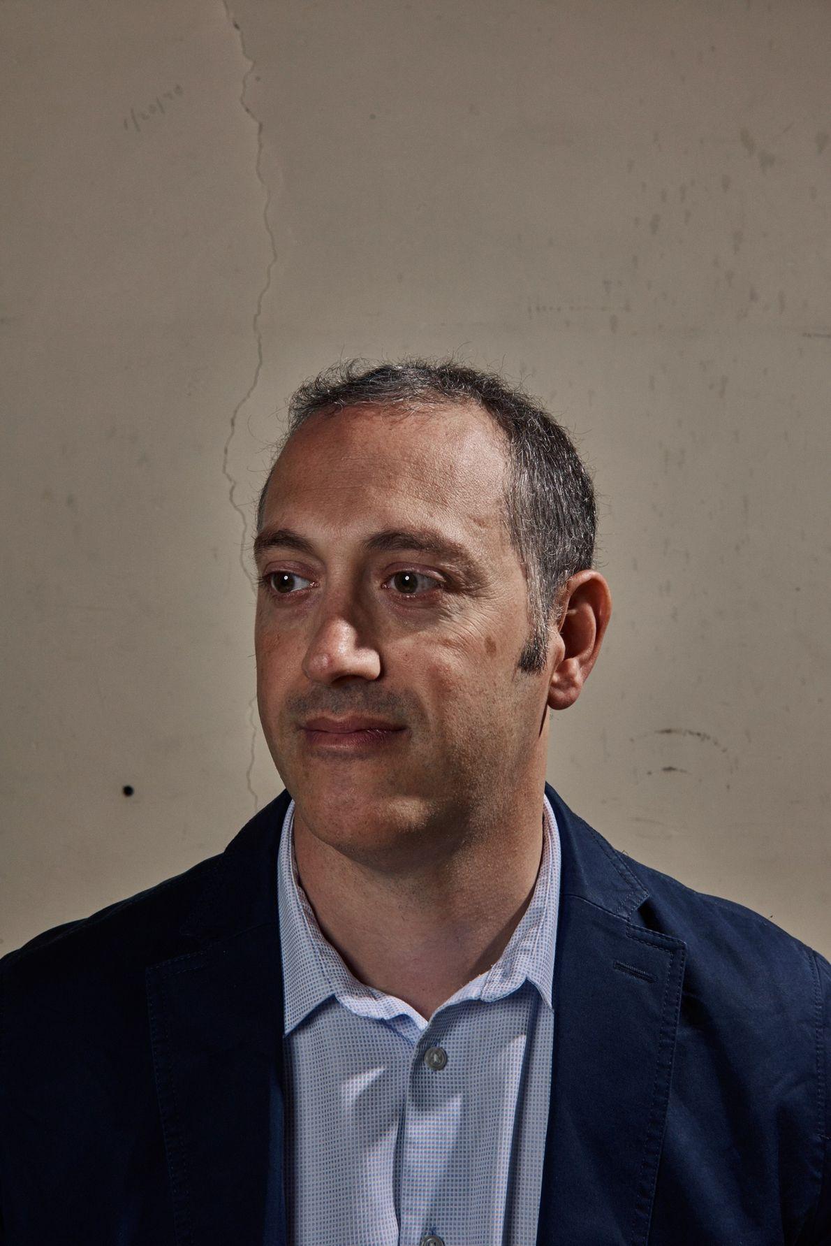Gianpaolo Carosi, ADMX's co-spokesperson and a scientist at Lawrence Livermore National Laboratory.