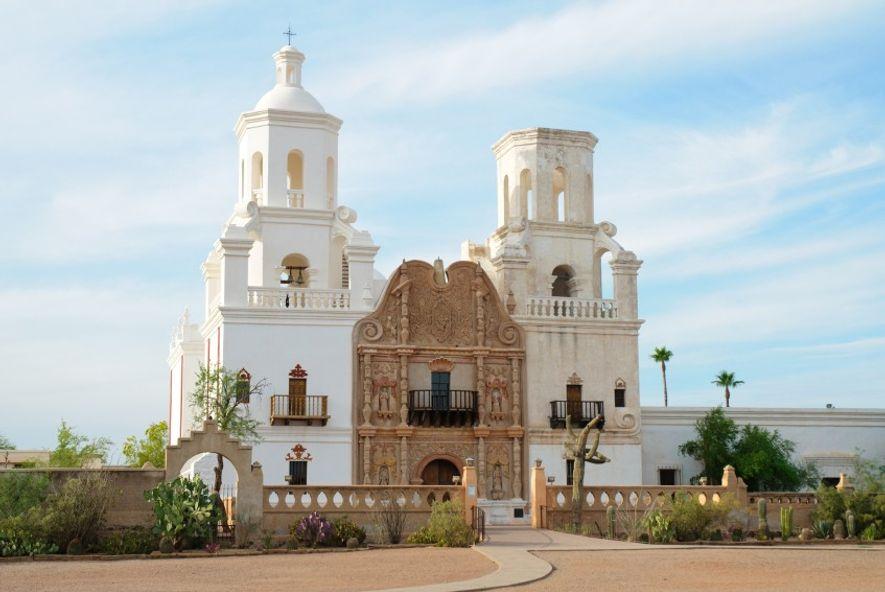 Mission San Xavier.