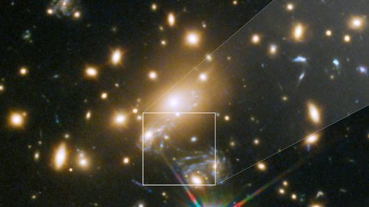 This Is the Farthest Star Humans Have Ever Seen