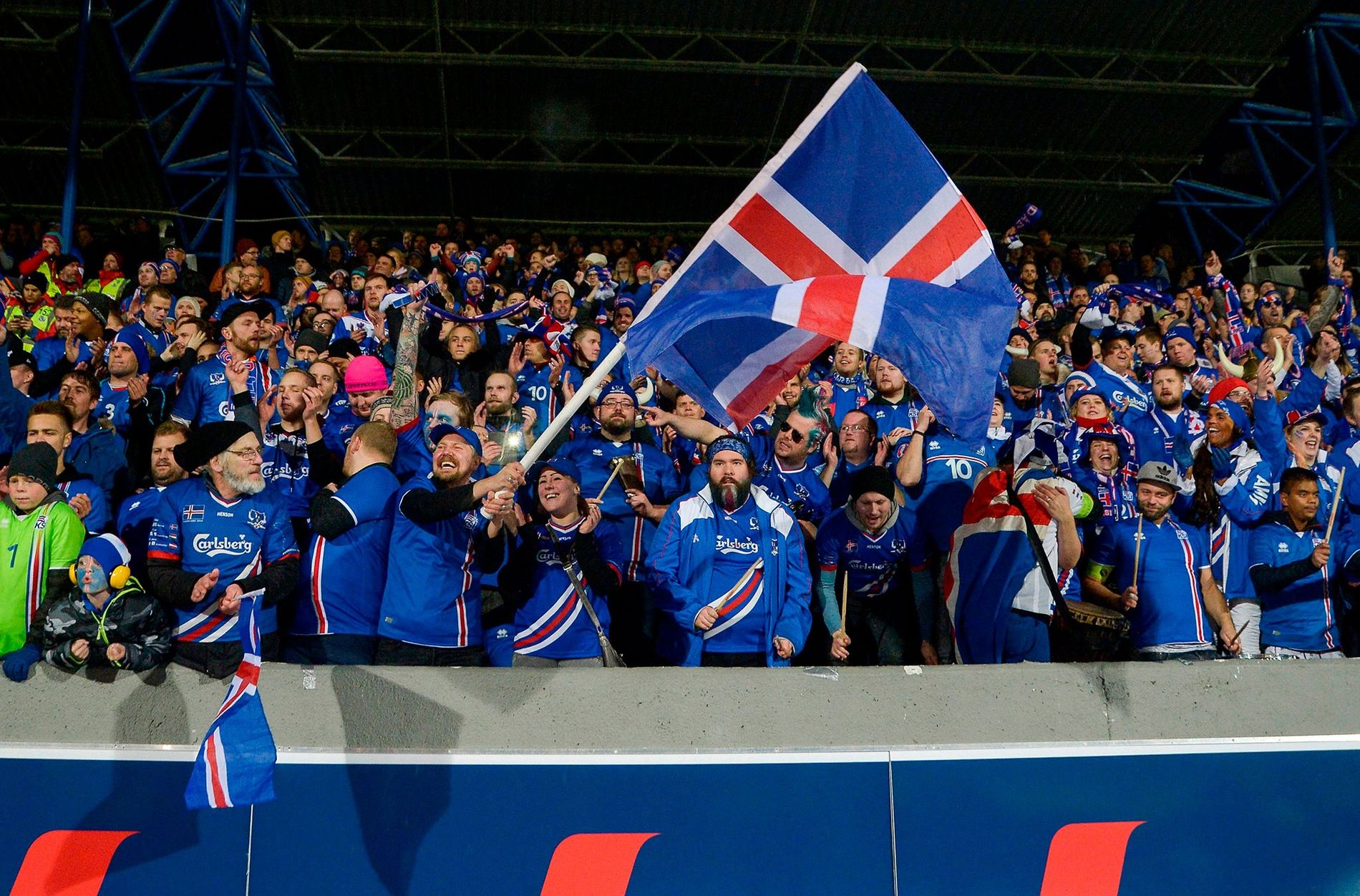 After beating Kosovo 2-0 at home in Reykjavik, Iceland became the smallest nation to compete in ...