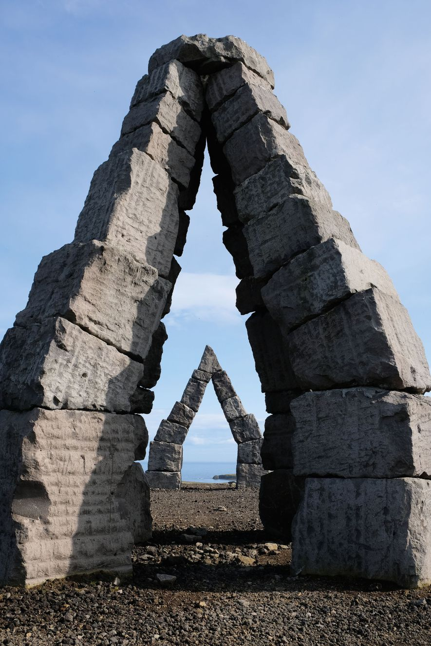 The Arctic Henge, Raufarhöfn.