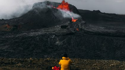 Witnessing the fiery formation of Fagradalsfjall, Iceland's newest volcano
