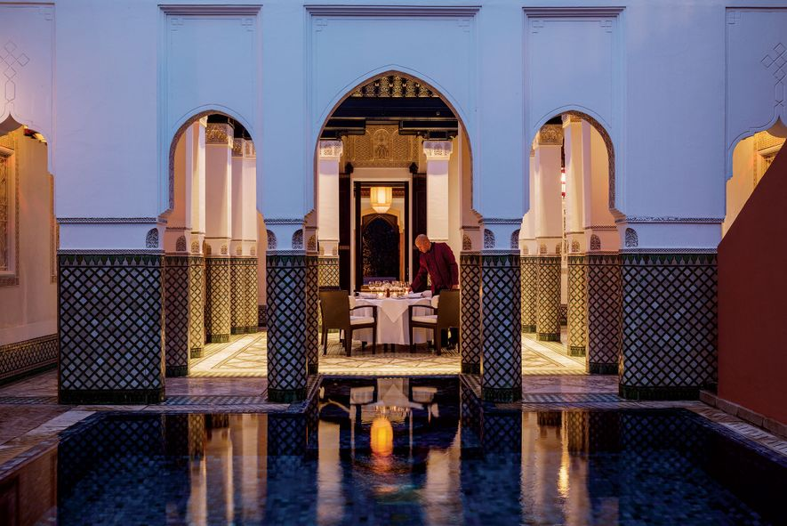 LA MAMOUNIA, MARRAKECHLike the heady city it inhabits, this Moroccan hotel oozes glamour and romance. Located ...
