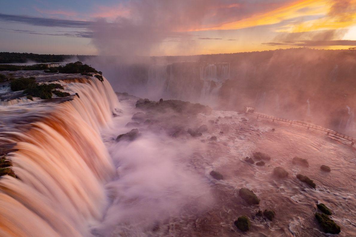 Iguazu National Park, Argentina and Iguaçu National Park, Brazil