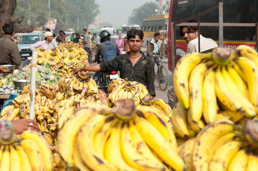 A street in Delhi