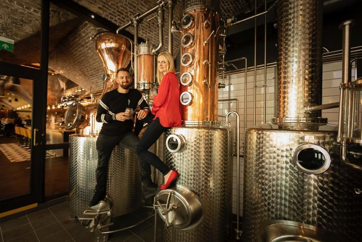 Seb Heeley and Jen Wiggins launched their first batch of gin in 2016.