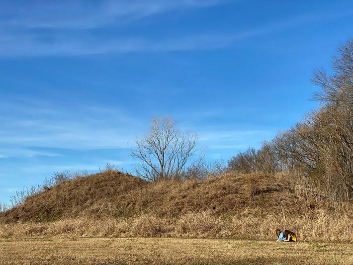 Spiro mounds Oklahoma - current