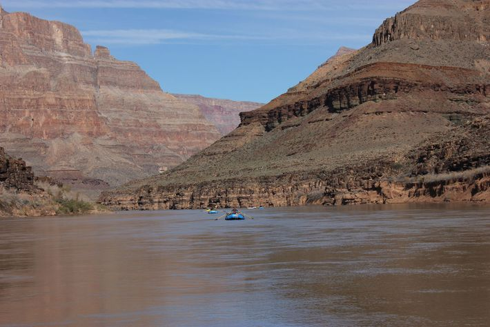 Antonio has led 25-day expeditions that cross the Grand Canyon, completely cut off from everything and everyone.