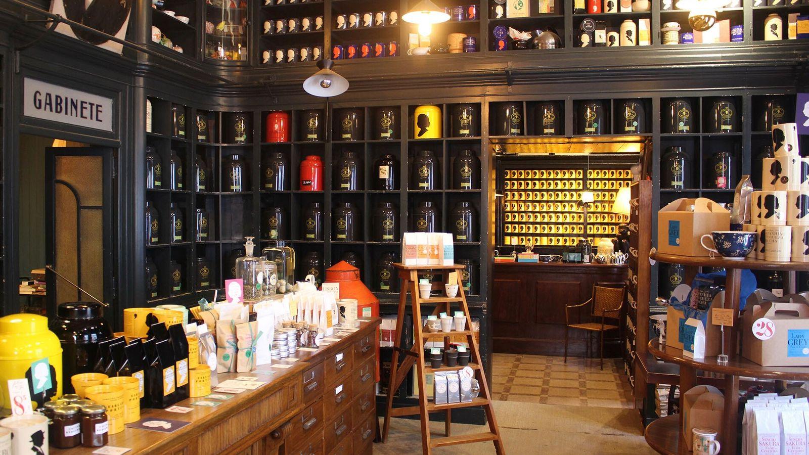 Sebastian Filgueiras' tea shop Companhia Portugueza do Chá in Lisbon is a mecca for tea enthusiasts.