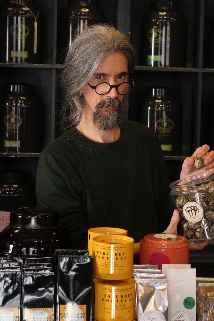 Sebastian Filgueiras is passionate about tea and its restorative properties.
