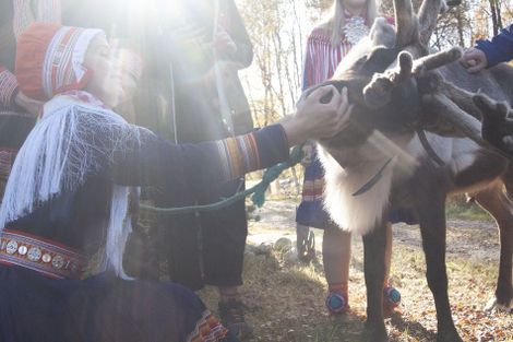 Photo story: meeting the Oskal Sámi family of northern Norway
