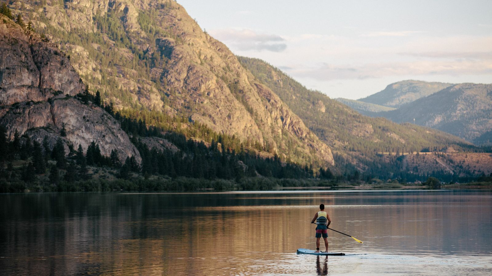 Okanagan Valley is home to mountain lookouts, biking trails, watersports and a lively local food scene ...