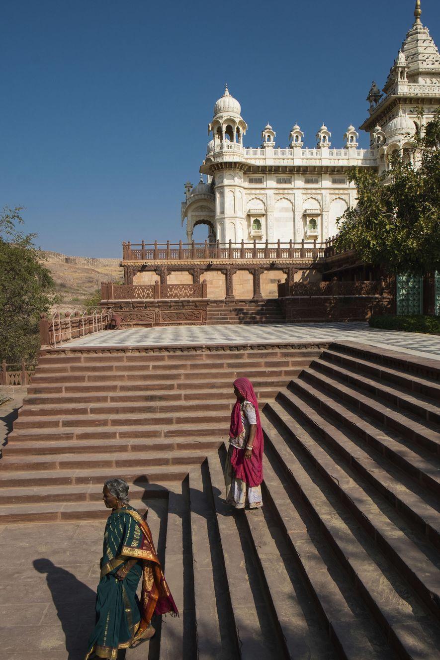 Jaswant Thada mausoleum.