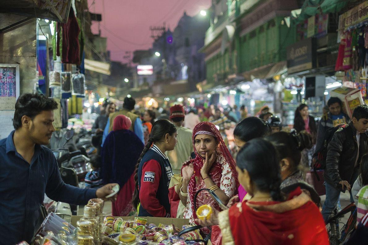 Sardar market, Jodhpur's old town.