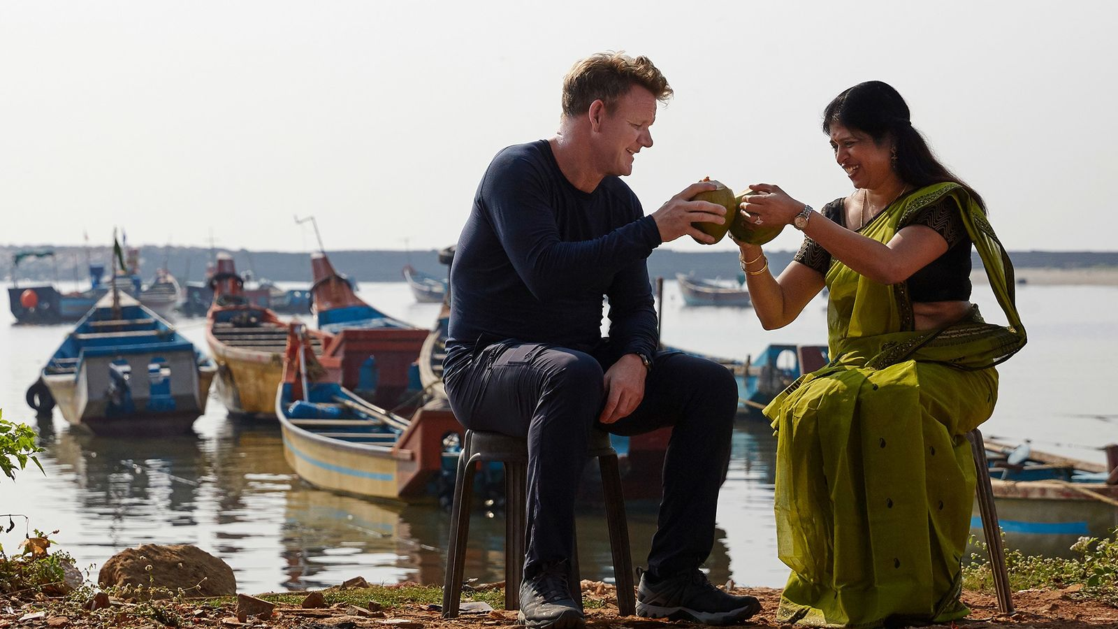 How to cook a piranha? Gordon Ramsay on skills he learned making travel TV