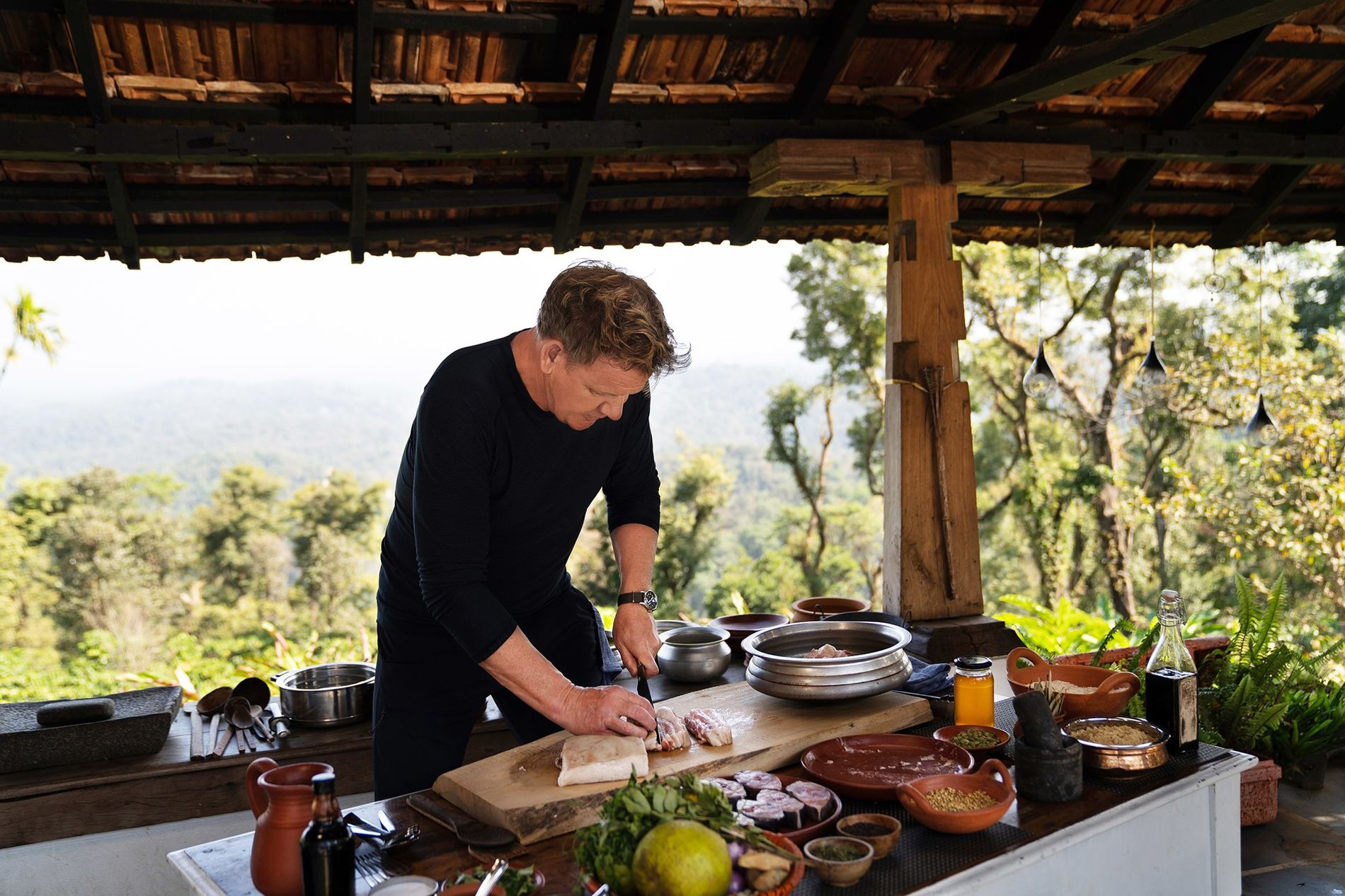 How To Cook A Piranha Gordon Ramsay On Skills He Learned Making Travel Tv National Geographic