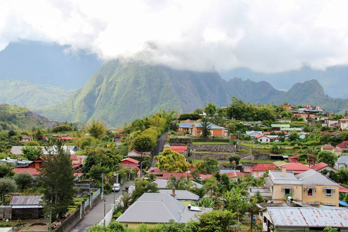 Hell-Bourg, a small village in Réunion.