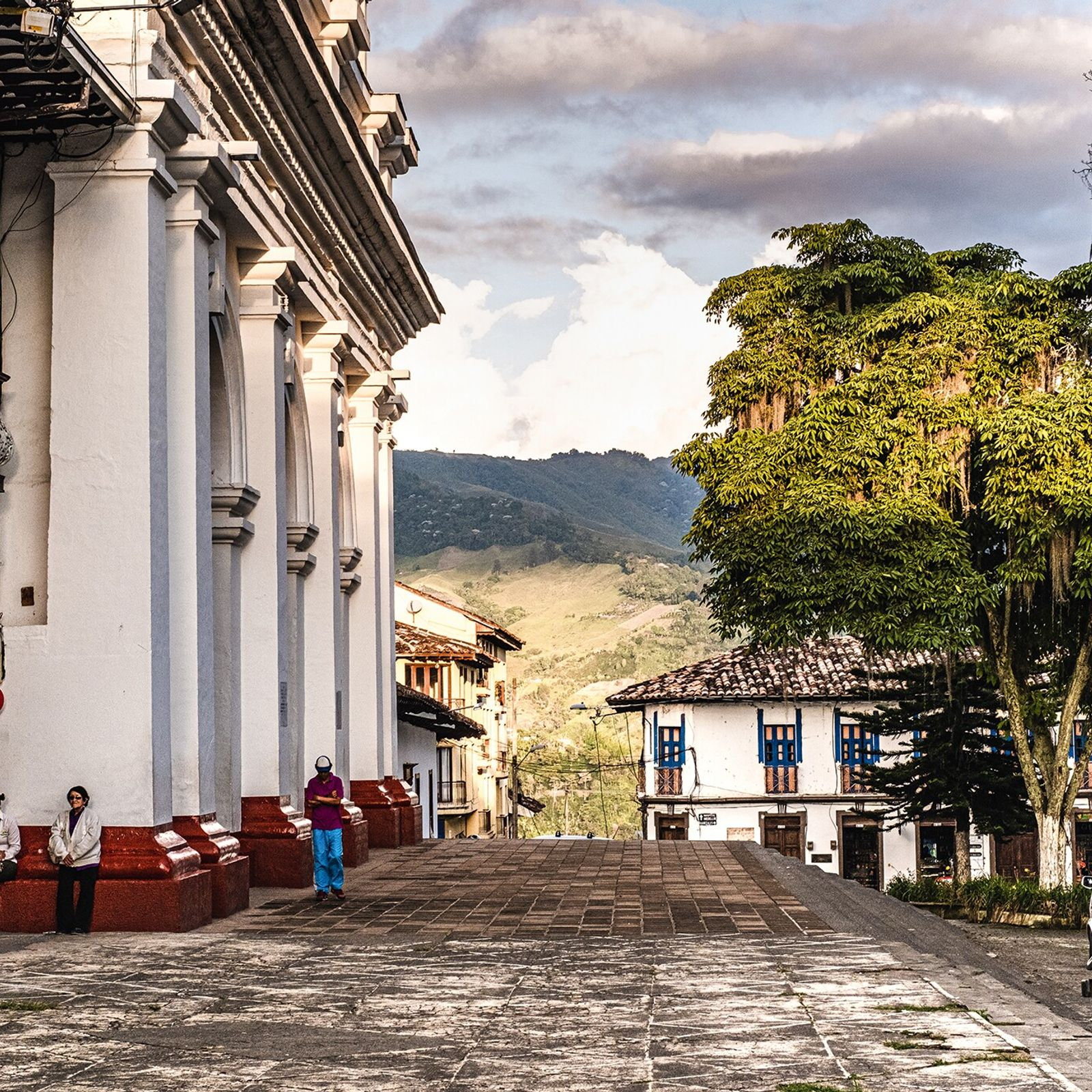 Especially in the departments of Caldas, Risaralda, Quindío and Tolima, where whitewashed, working fincas dot the landscape and ...