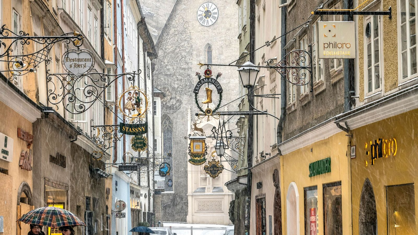 Salzburgis a city that really comes into its own in winter, barely an hour's drive from ...
