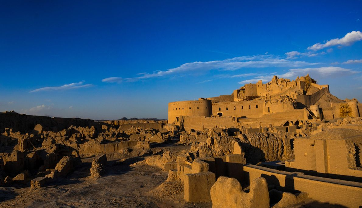 The citadel of Bam in southeastern Iran has stood sentinel over the city for more than ...
