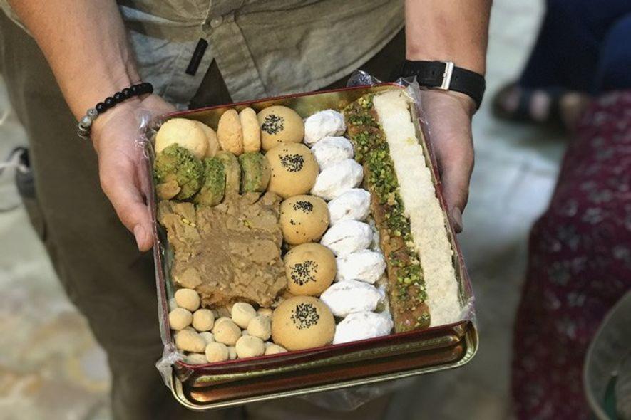 Yazd's famous sweet baklava