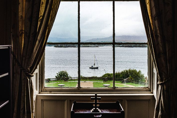 Bantry House, a stately home and museum with guest rooms overlooking Bantry Bay on Sheep's Head ...