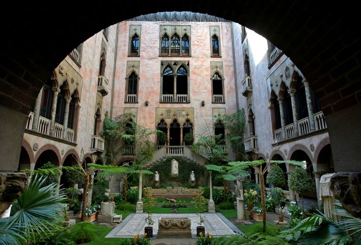 "Boston's Isabella Stewart Gardner Museum is known as a ""palace turned inside out"" because of its ..."