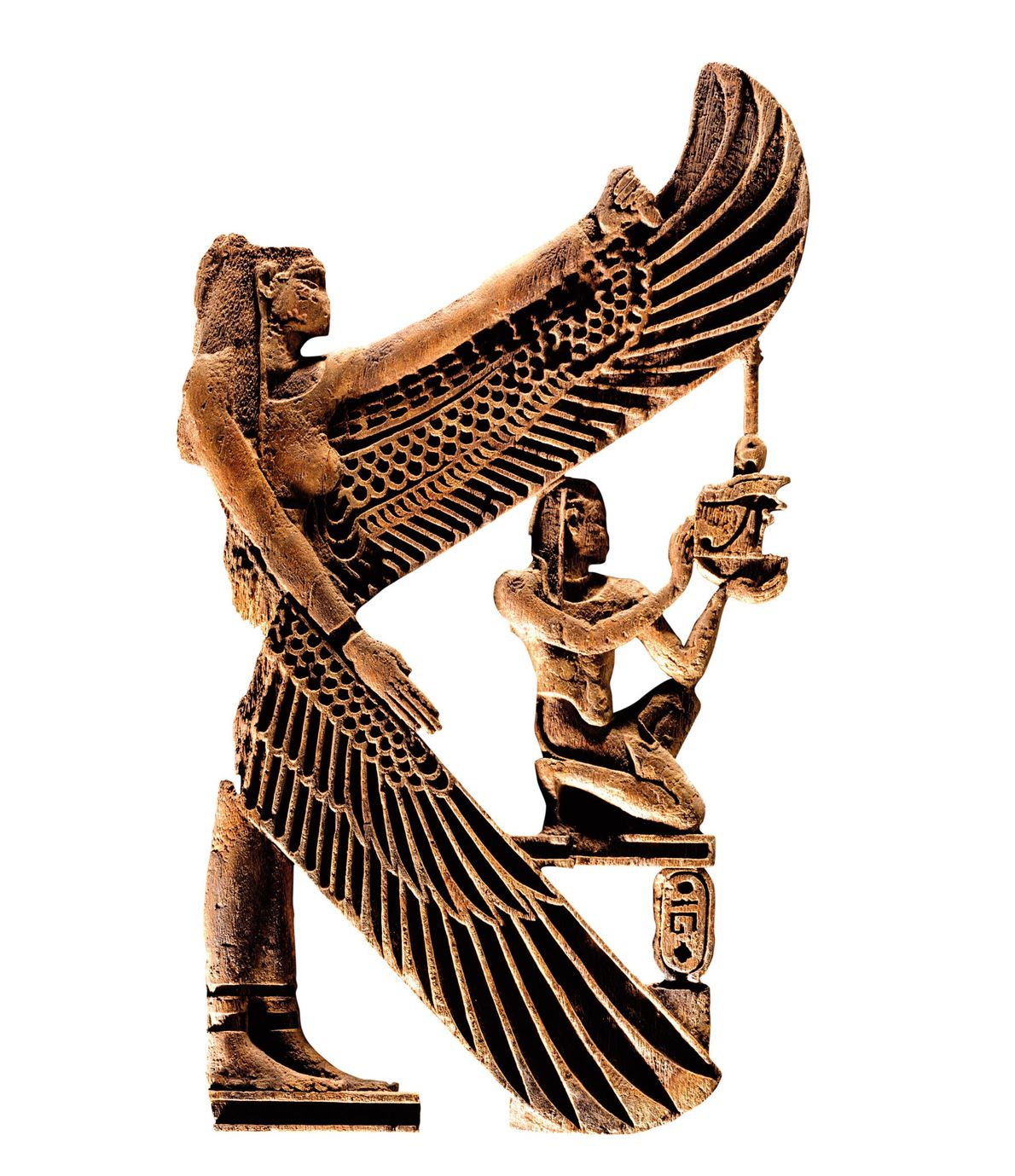 Worship of this Egyptian goddess spread from Egypt to England