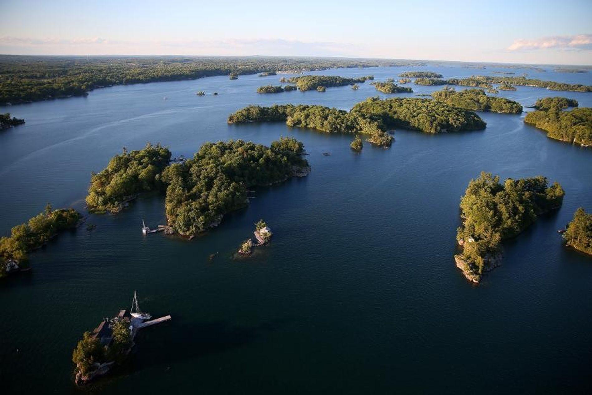 Thousand Islands Region in Ontario.