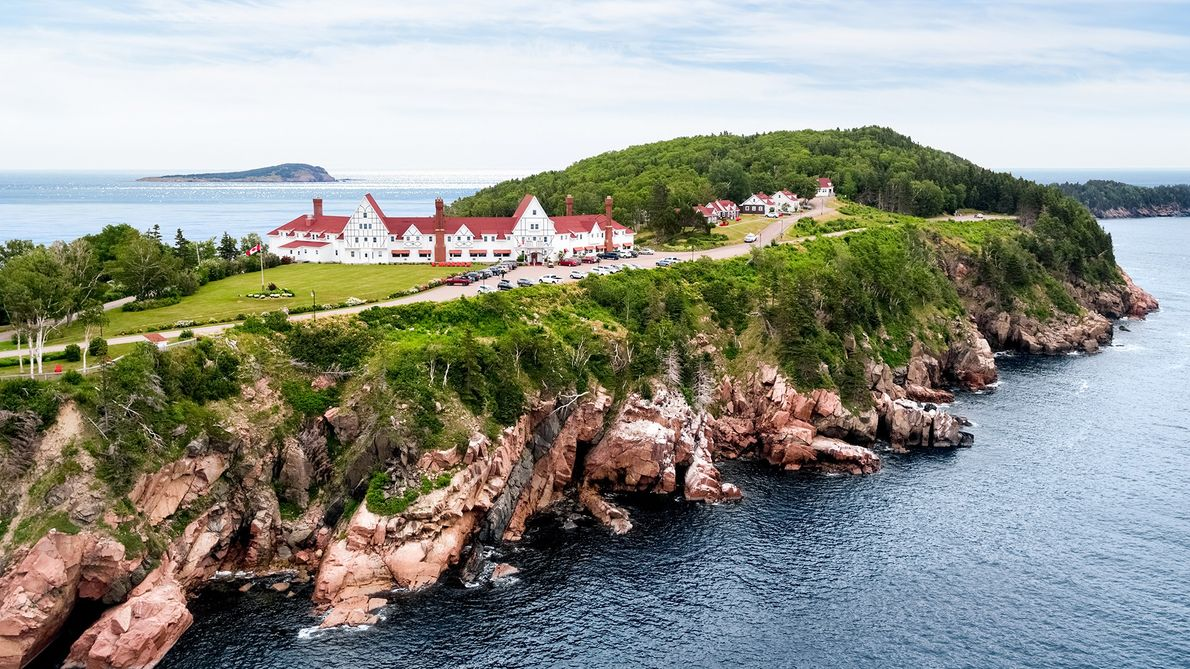 Keltic Lodge at the Highlands sits atop one of the most spectacular stretches of Cape Breton ...