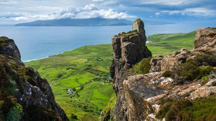 Visit a wild and beautiful Scottish island owned by its residents