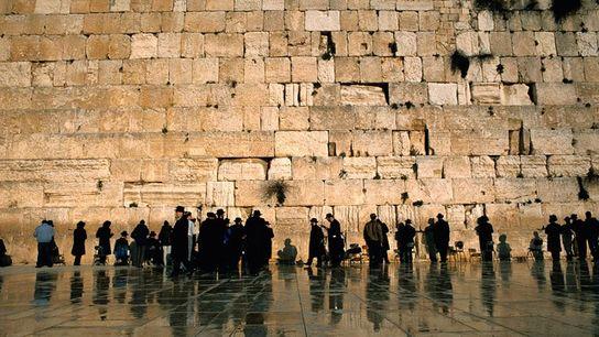 Western Wall, Jerusalem.