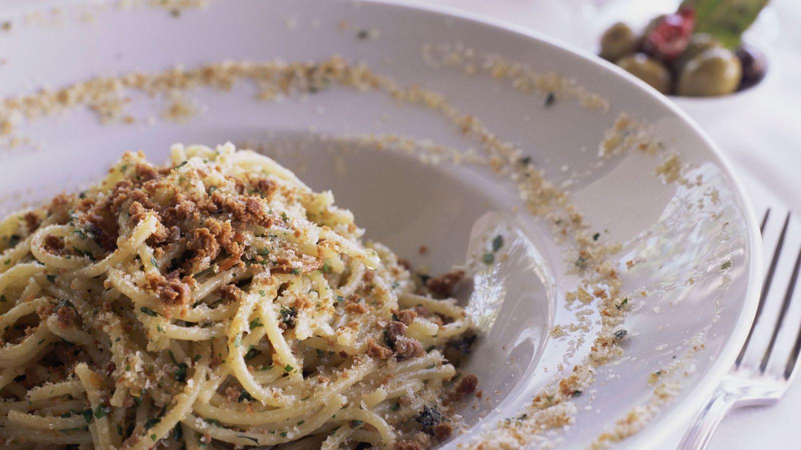 Pasta con le sarde — or 'pasta with sardines' — combines wild fennel, sultanas, pine nuts, ...