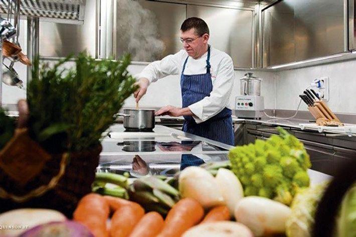 Chef Agostino Buillas of Café Quinson