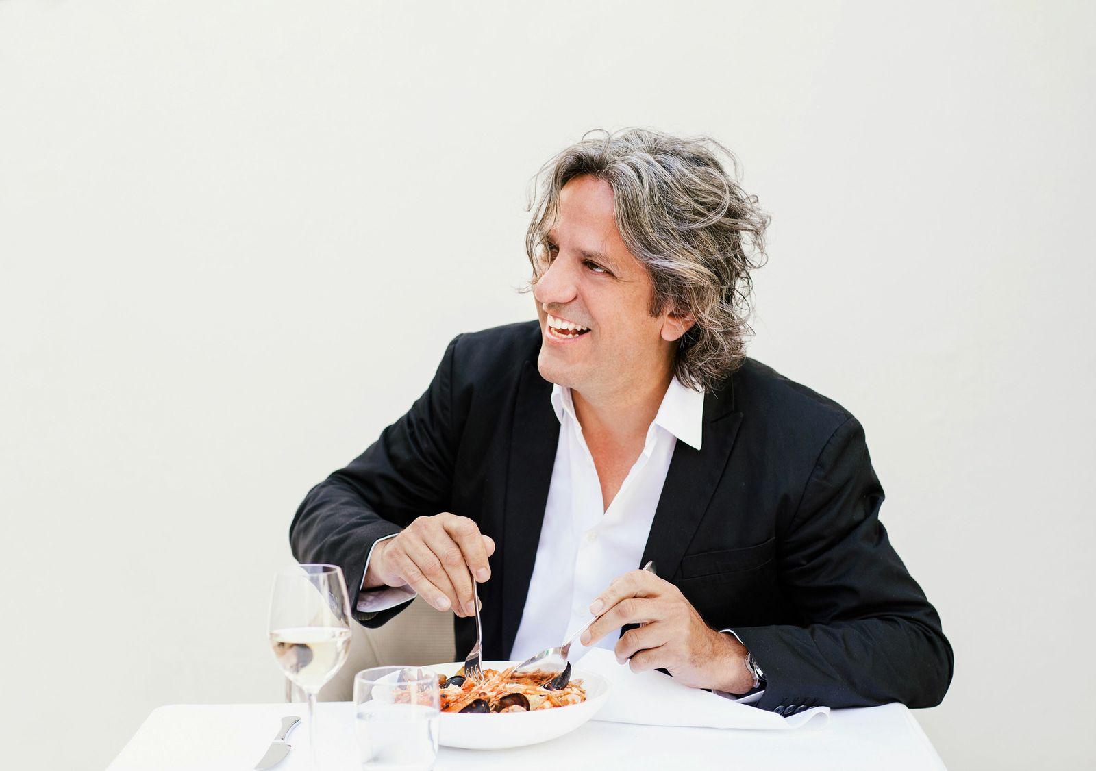 Giorgio Locatelli is owner of Locanda Locatelli in London.