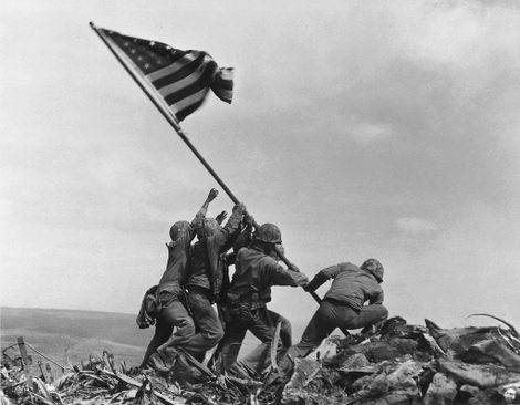 Was this iconic World War II photo staged? Here's the heroic true story.