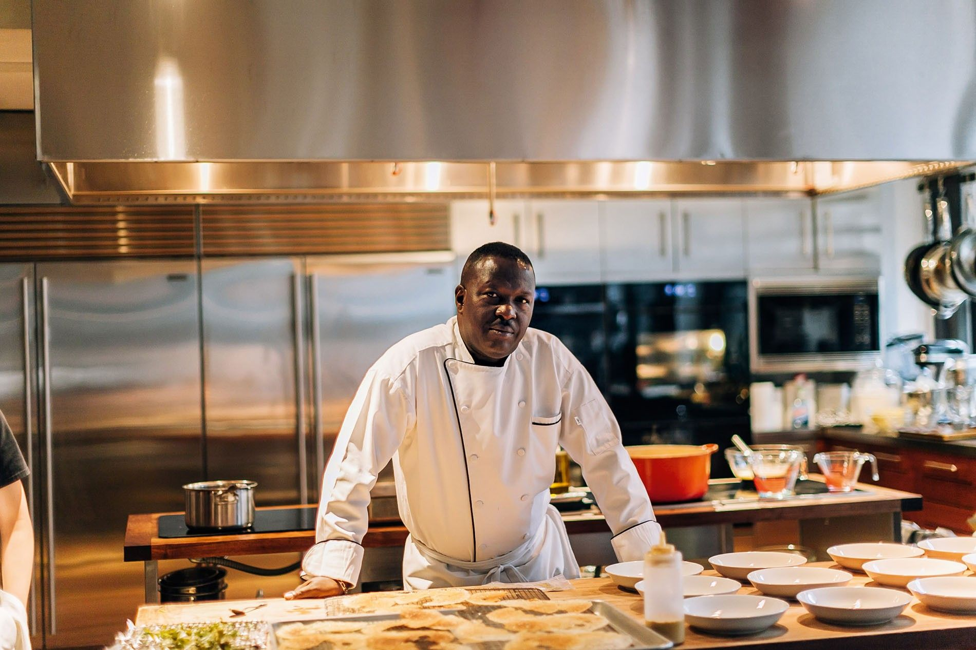 Chef Christopher Golding is originally from Kingston and trained overseas before his career brought him to ...