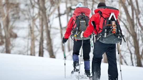 Snowshoeing in Sounkyo Gorge, Daisetsuzan National Park, is one of the joys of winter in Japan's ...