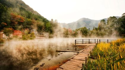 Hot springs and healing waters in Japan's onsen capital