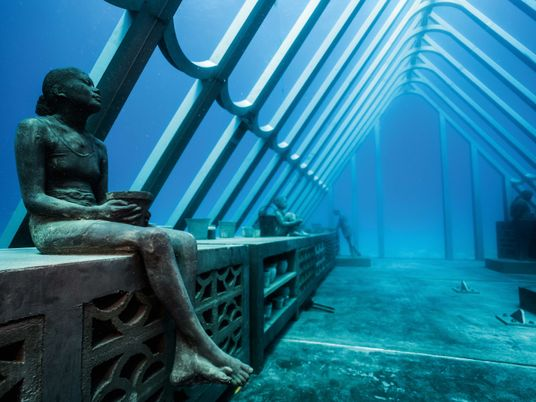 A look at the new underwater museum bringing Australian Aboriginal culture and reef conservation together