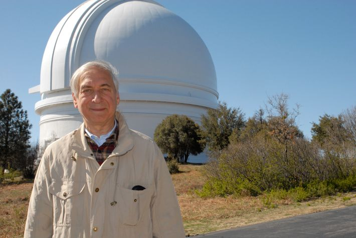 Jay Pasachoff at the Palomar observatory, near San Diego. His first total eclipse, in 1959, was viewed ...