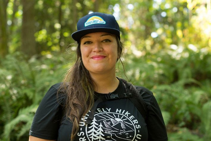 Jenny Bruso loves that Unlikely Hikers is challenging people's perceptions of who is outdoorsy and how ...