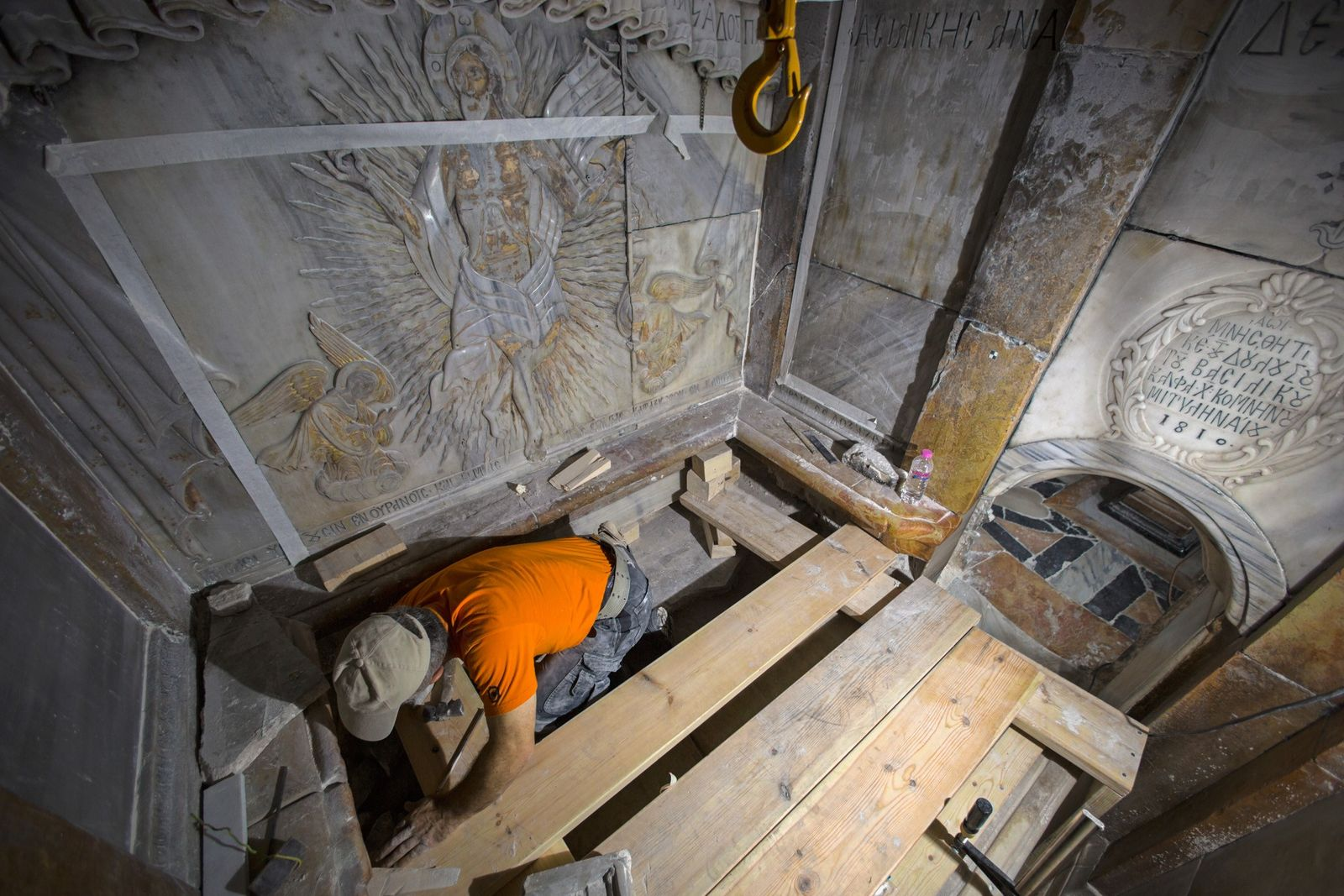 Exclusive: Age of Jesus Christ's Purported Tomb Revealed - 1